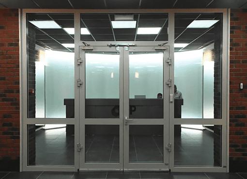 Алюмінієві двері