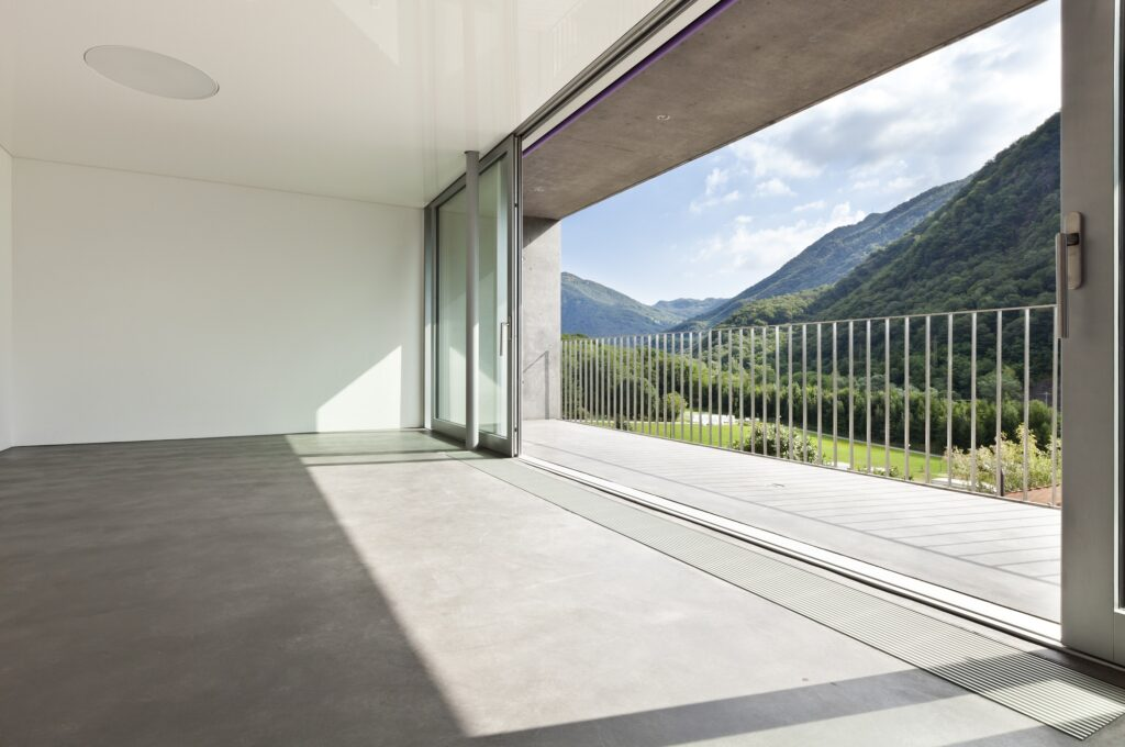 Розсувні алюмінієві вікна