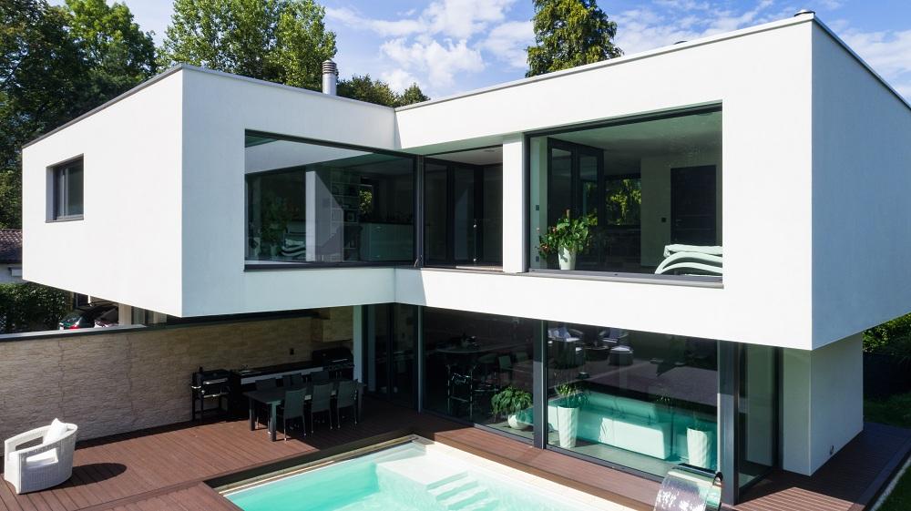 Сучасний дизайн не можна уявити без алюмінієвих вікон