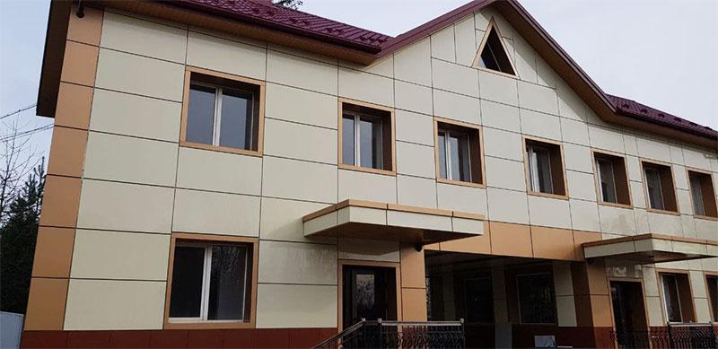 Фасад з керамограніту