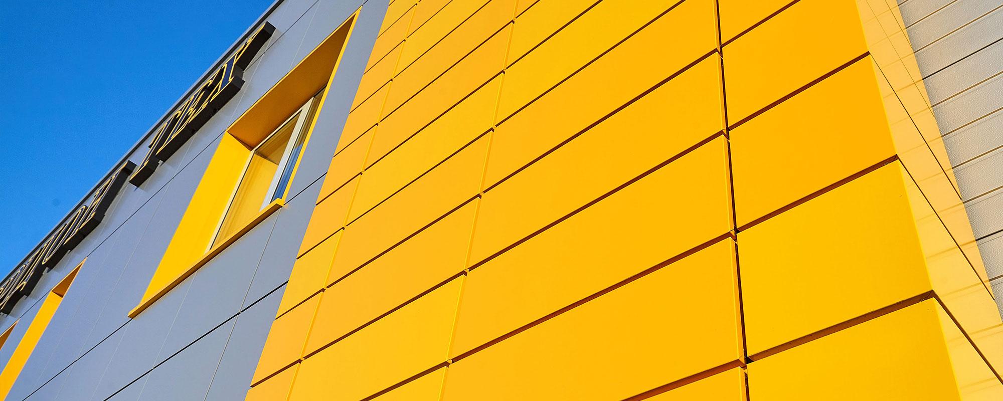 Вентилируемый композитный фасад