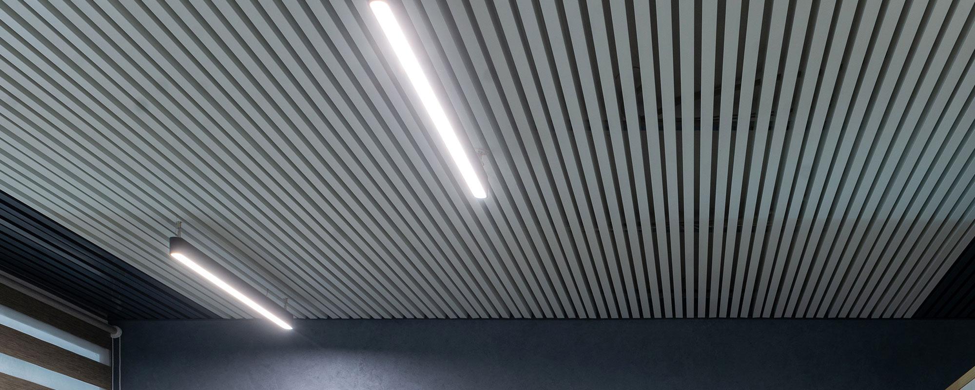 Підвісні стелі від виробника