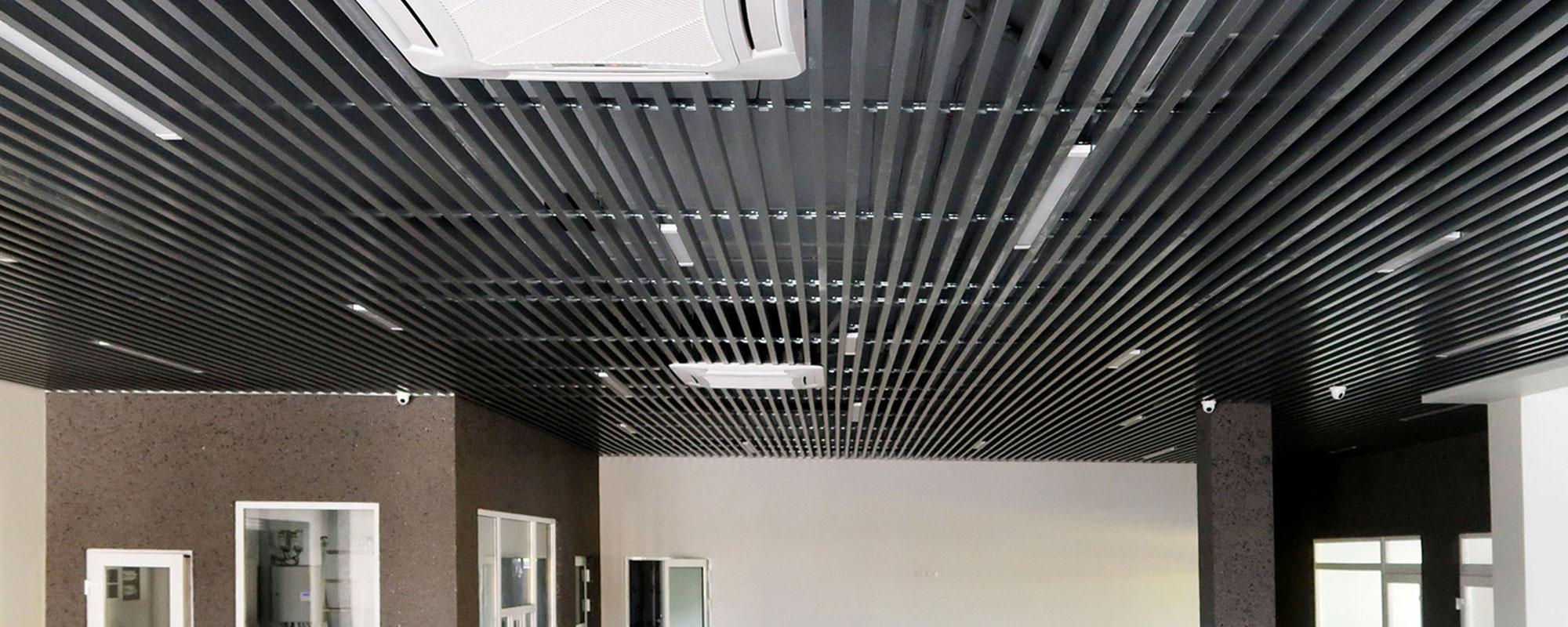 Кубоподібні підвісні стелі
