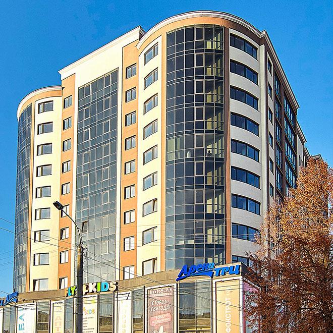 Житлово-торговельний комплекс, м.Рівне